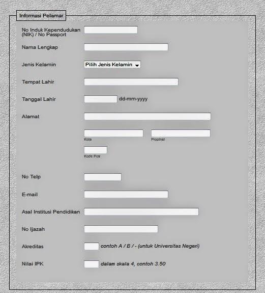 pendaftaran CPNS secara Online