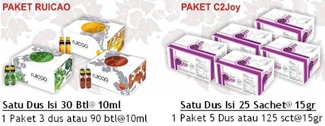 pilihan paket produk ruicao
