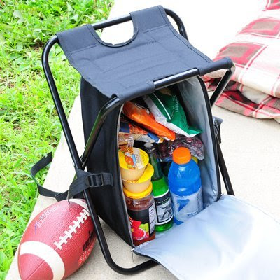 Coolest Outdoor Coolers - Tailgate Backpack Cooler Chair (15) 9