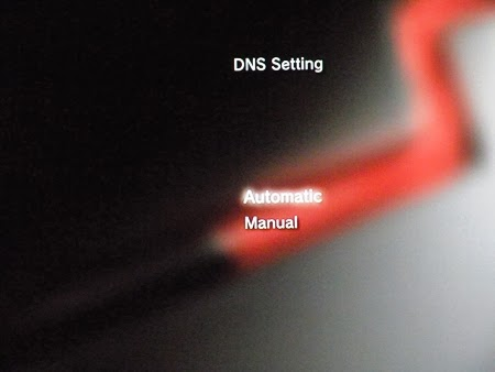 Konsola PS3 - DNS setting
