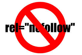 add nofollow attribute in blogger