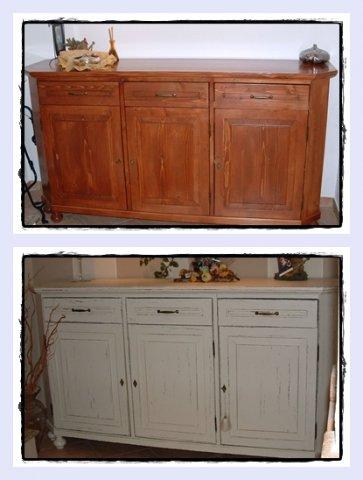 Verniciare pensili cucina cucine decian with verniciare pensili cucina with verniciare pensili - Dipingere vecchi mobili in legno ...
