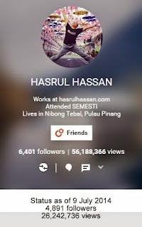 Google Plus - G+ Hasrul Hassan