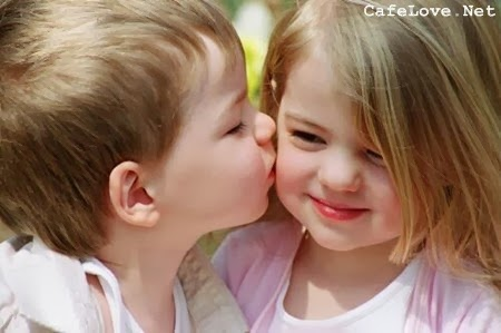 Hình ảnh Tình yêu trẻ thơ đẹp, dễ thương nhất