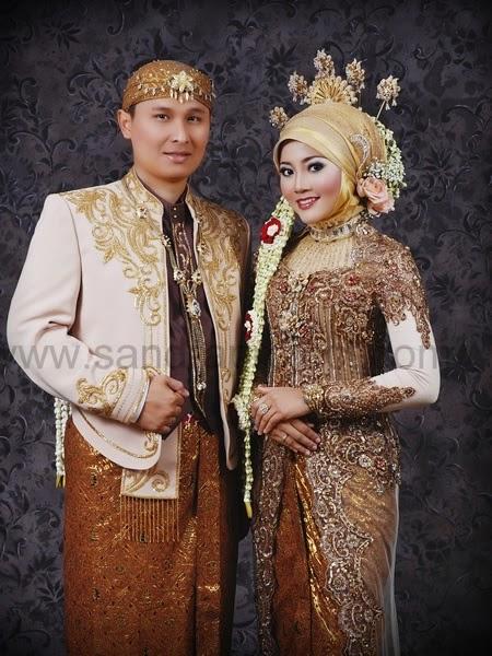 Model baju pengantin adat jawa muslim