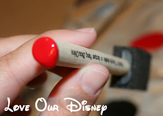 Ends of brushes are perfect for making Mickey heads on chore sticks. Check out this craft from LoveOurDisney.com