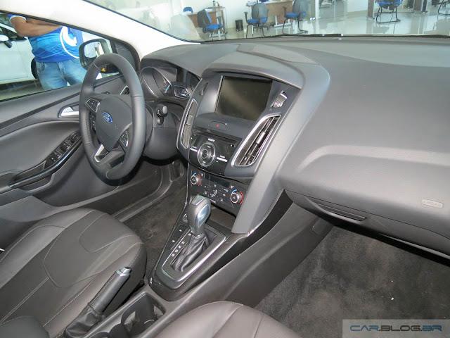 Novo Focus 2016 - interior - painel - shift paddles