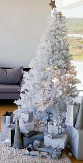 Arboles de Navidad Color Blanco, parte 1
