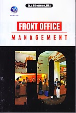 toko buku rahma: buku FRONT OFFICE MANAGEMENT, pengarang adi soenarno, penerbit andi