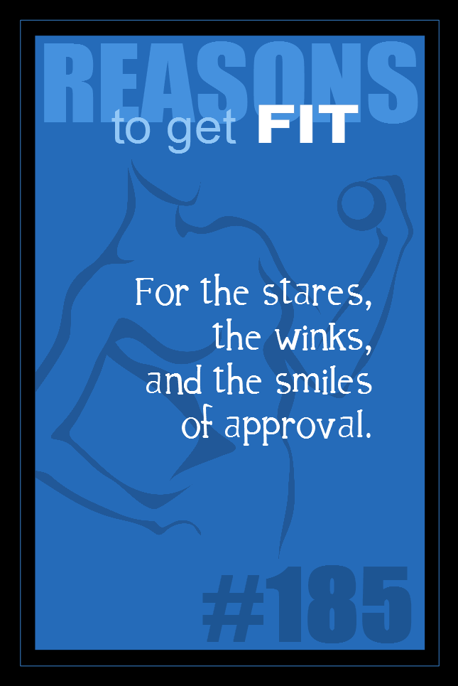365 Reasons to Get Fit #185