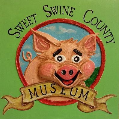 A Leftover, Lola Leftover, Curator of the Sweet Swine Museum on The Women of Sweet Swine County!