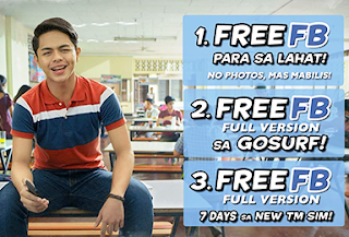 TM may FREE Facebook na Ulit!