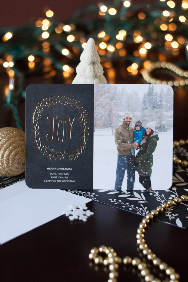 Our Christmas Cards with Tiny Prints - The Hills Are Alive Blog