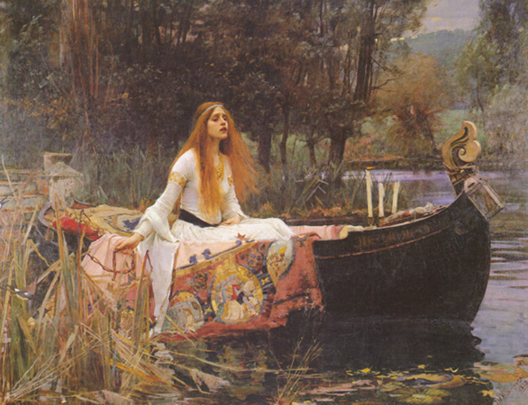 Once Upon A Blog: The Lady of Shalott