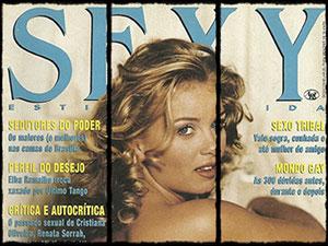 vanusa spindler nua revista sexy janeiro 1994