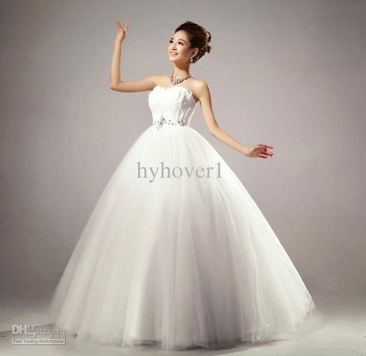 La moda de hermosos vestidos de novia al Estilo de Corea del Sur