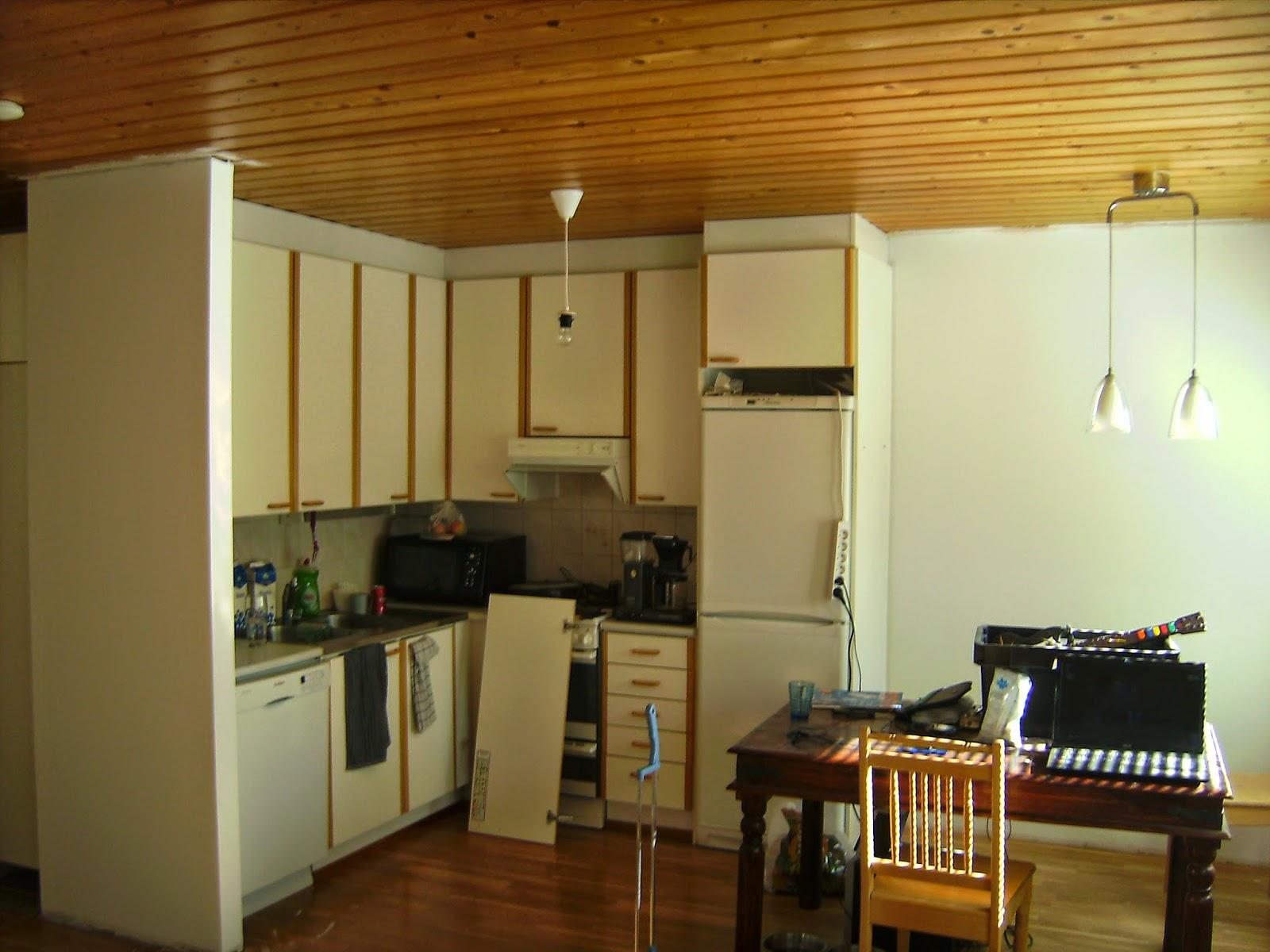 Vuorossa olohuoneen ja keittiön muuttumisleikki  Kulti