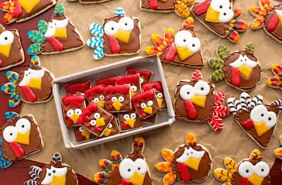 http://thebearfootbaker.com/2013/11/turkey-nugget-cookies-poor-turkeys/