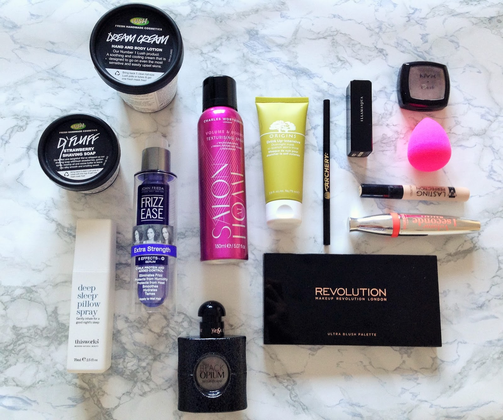 Beauty Favourites 2014 Flat Lay