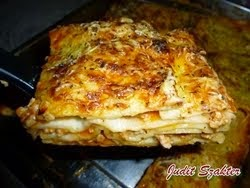 Bolognai lasagne házilag