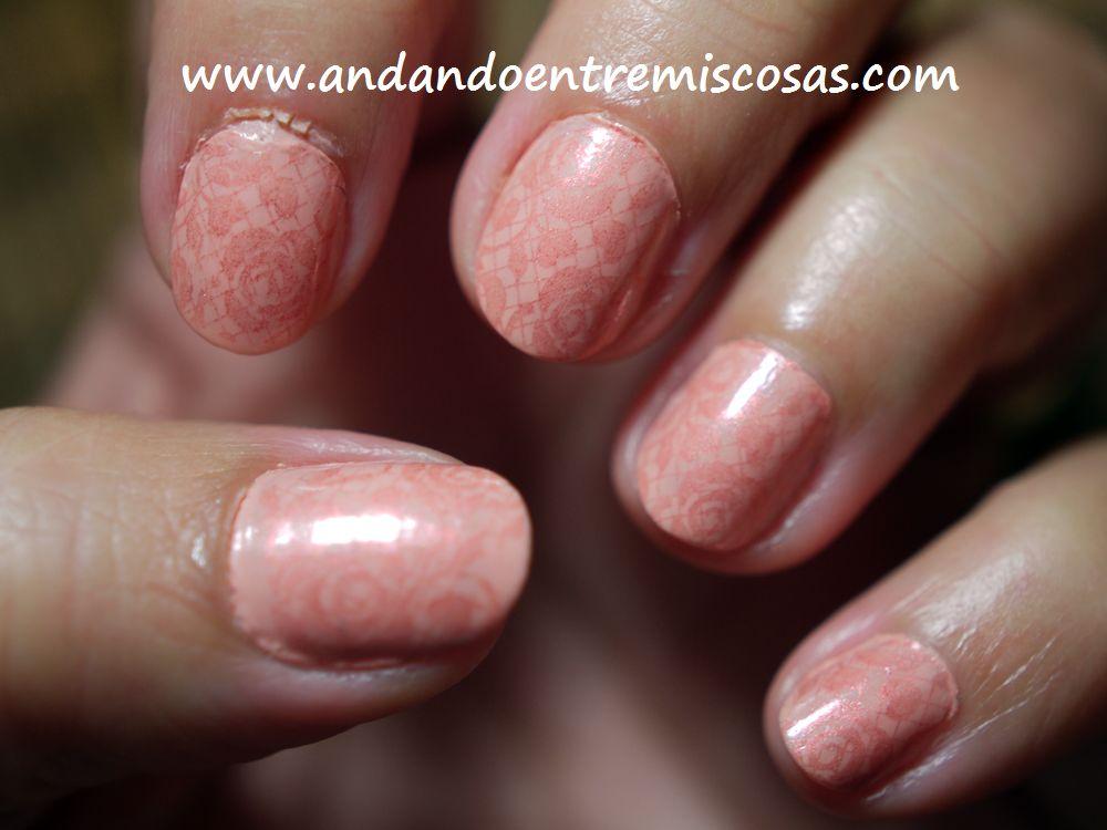 Manicura en rosa