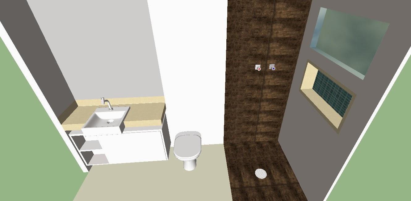 Banheiro de blogueira