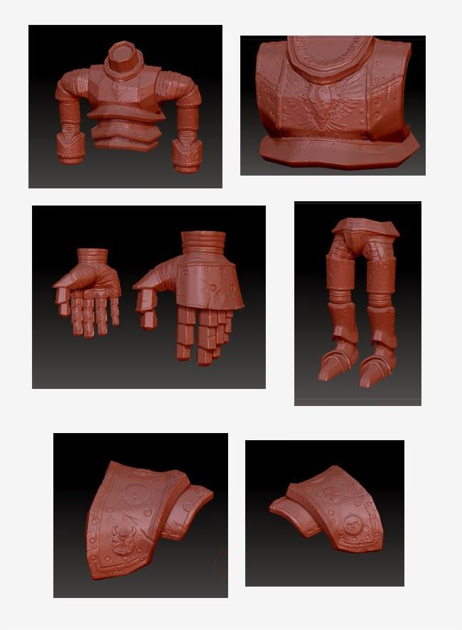 Troll ZBrush Sculpts