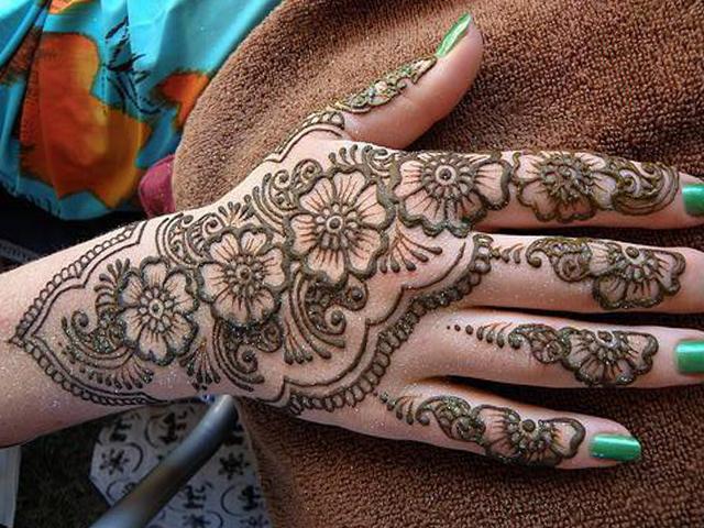 Mehndi Designs For Hands New Updates : Latest hand mehndi design arabic makedes