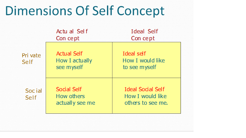 real self vs ideal self essay