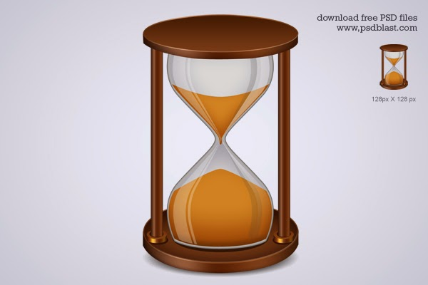Hourglass Icon PSD