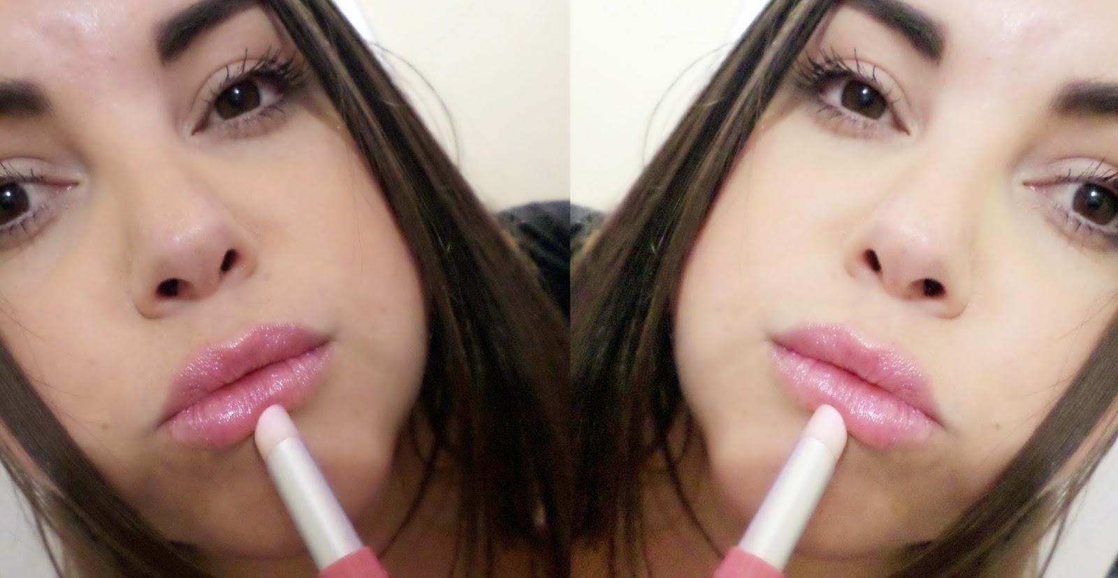Nos lábios, Boca