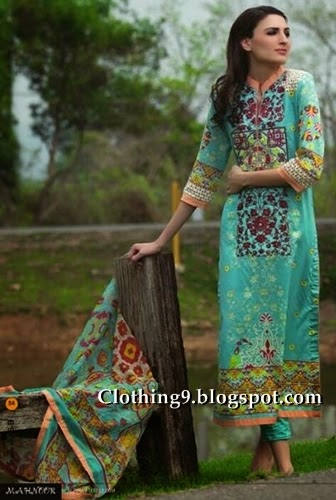 Mahnoor Spring-Summer Collection 2015 by Al-Zohaib Textile