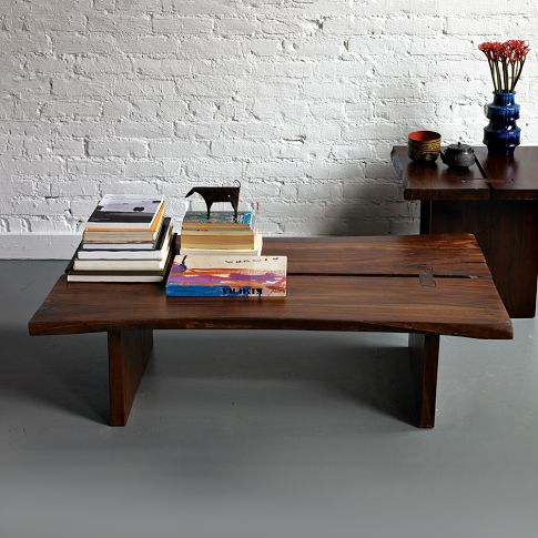 The West Elm Raw Edge Coffee Table in West Elm Fantasy World. - Beany Malone: West Elm Raw Edge Coffee Table