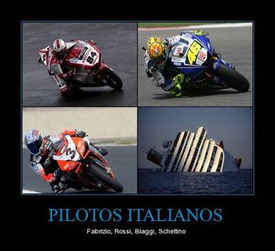 Humor - pilotos italianos