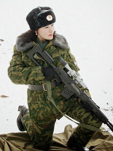 جميلات الجيش الروسى