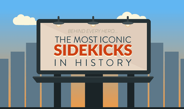 Behind Every Hero: The Most Iconic Sidekicks In History