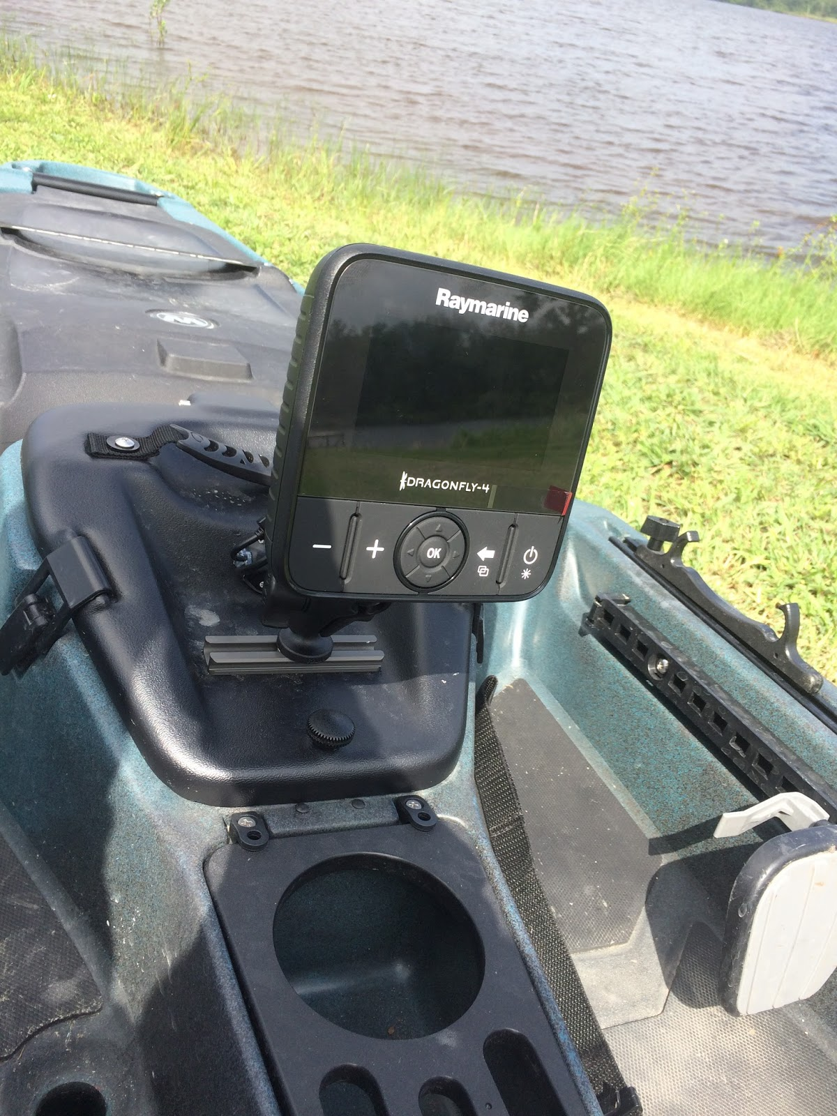 yak smack rigging the atak fishfinder