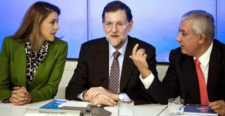 Hacienda acusa al PP por delitos fiscales