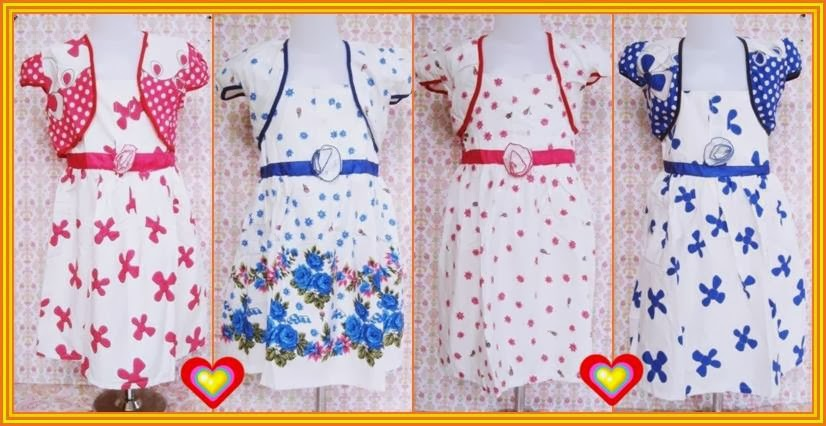 dress+banana grosir baju anak pilih model harga pabrik termurah seindonesia,Baju Anak Anak Termurah