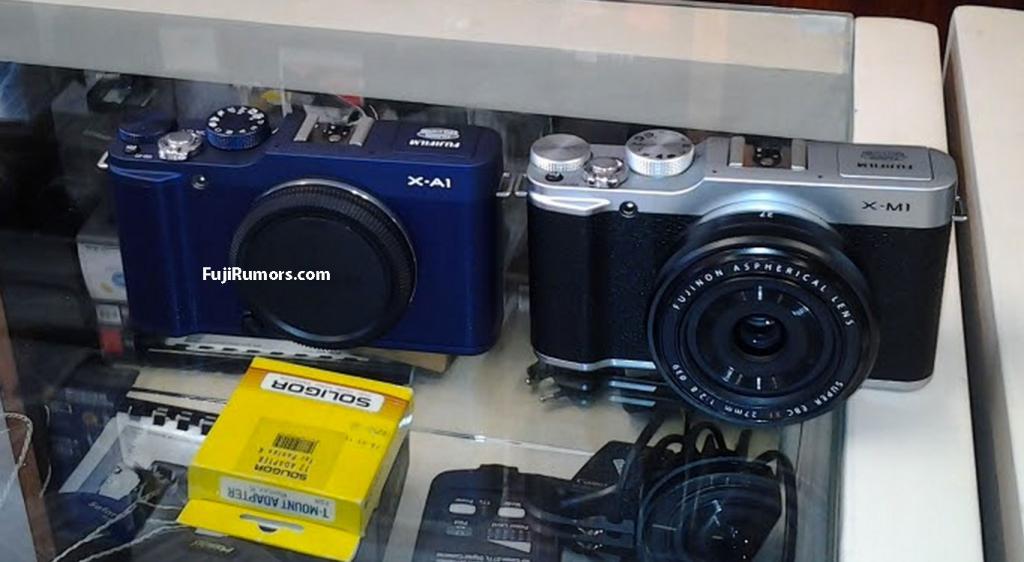 Fotografia della Fuji X-A1 e della Fuji X-M1