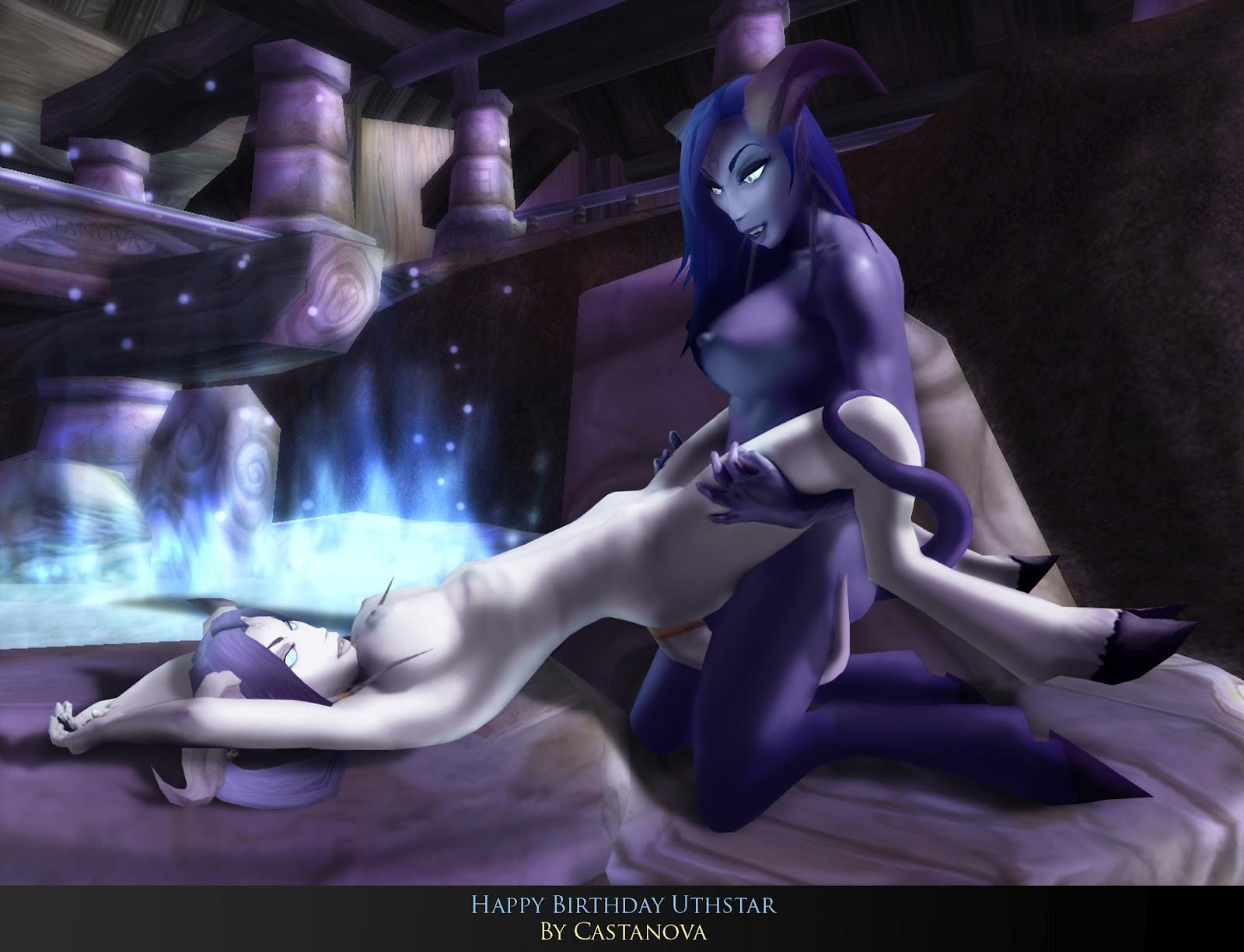 Draenei sex concert erotic scenes
