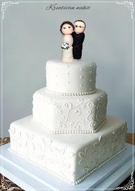 Vrhovi za svadbene torte