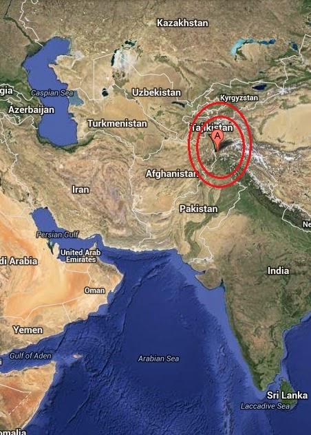 Magnitude 4.7 Earthquake of Chitral, Pakistan 2014-09-17