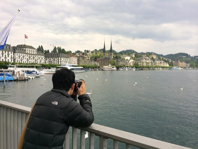 wisata, sungai reuss,Lucerne,switzerland,Eropa