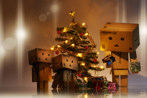 Danbo christmas with family