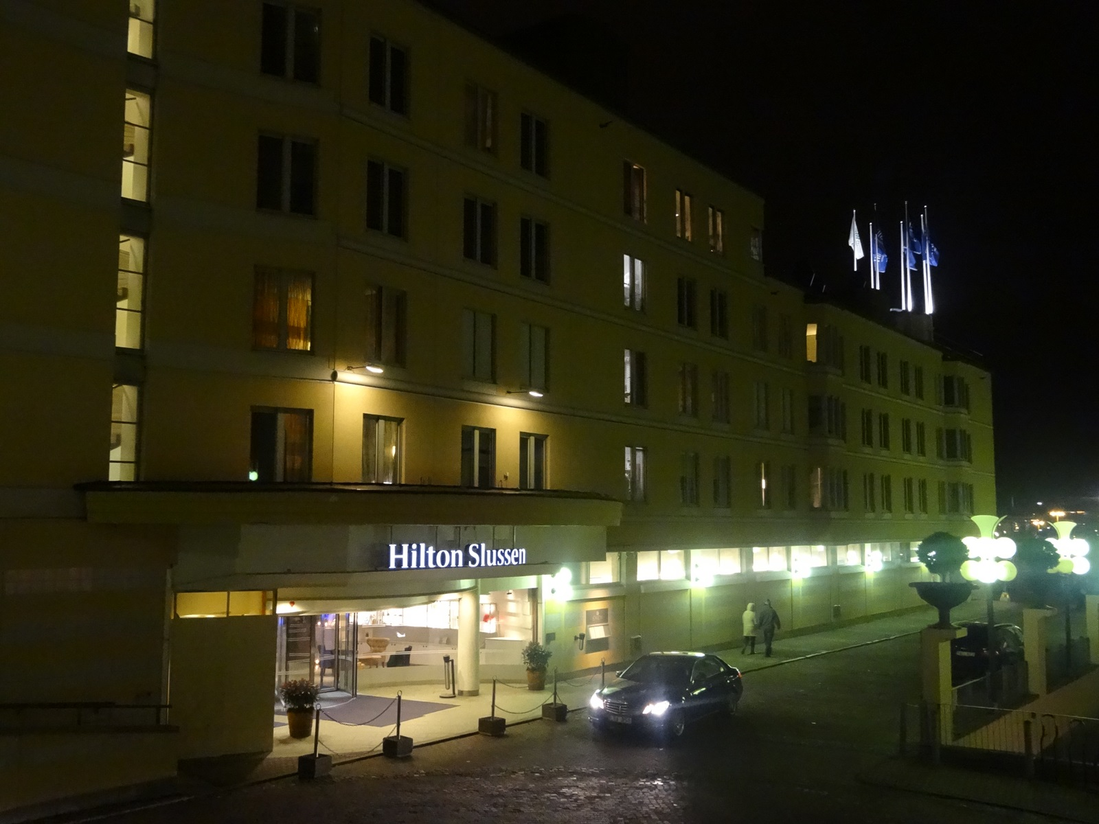 16 hotel Hilton Stockholm Slussen od drugiej strony