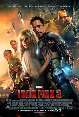 Iron Man 3 [2013] [DvdRip] [Sub Español Pegados]  [1 Link]