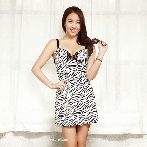 Ca sĩ Hàn Quốc làm người mẫu nội y 5