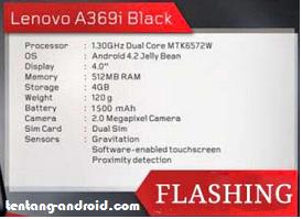 Cara Flash Lenovo a369i Tanpa PC Dan Dengan PC Bergambar