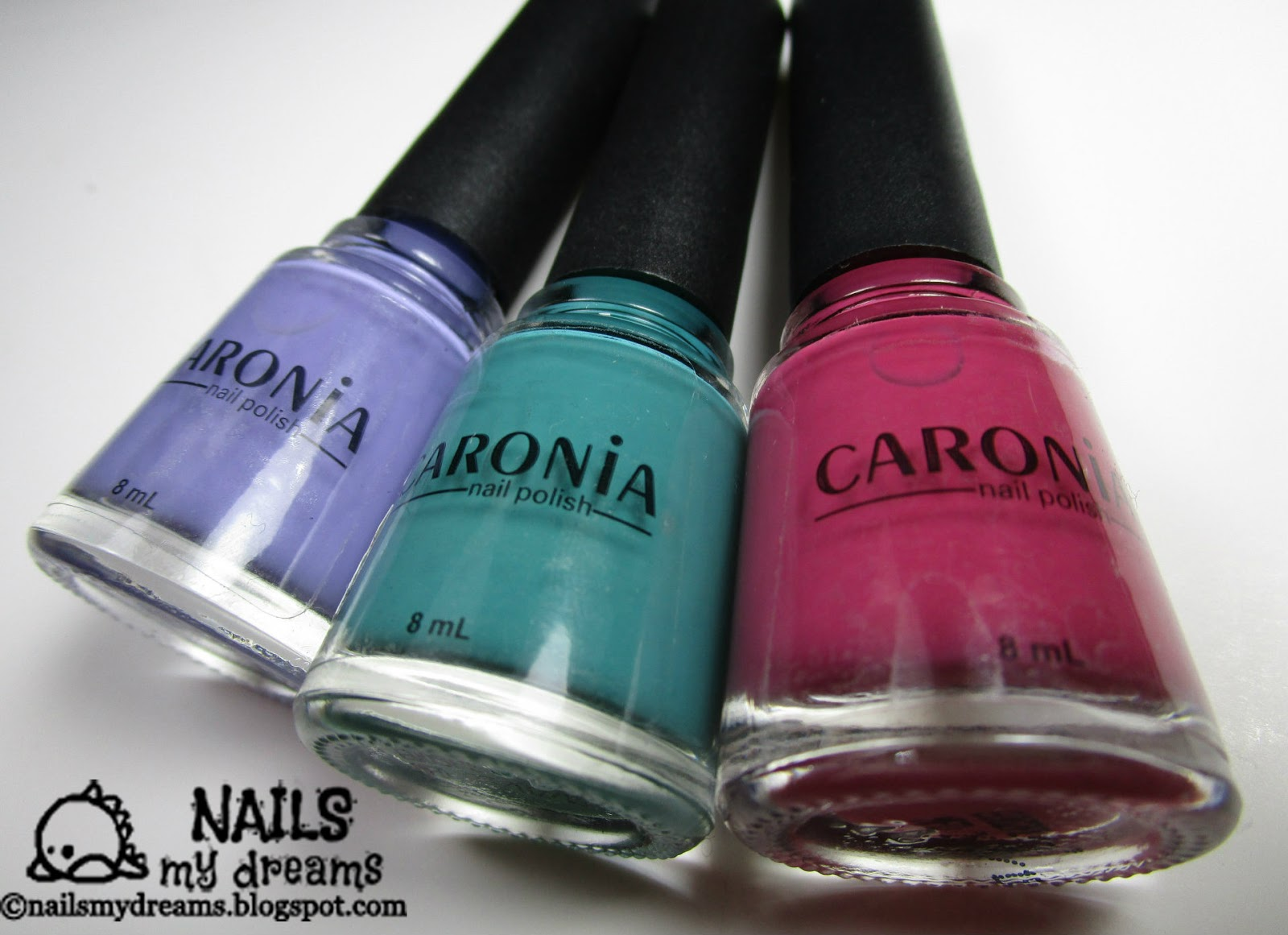 Nails My Dreams: Caronia Shades of Summer Collection - First Crush ...